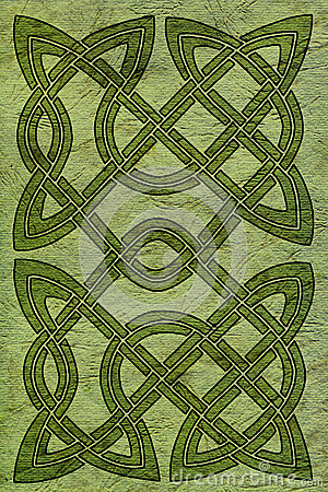 Celtic card or book cover