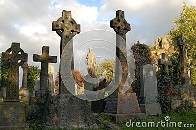 Celtic cemetery