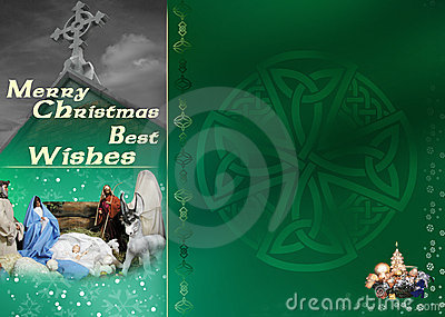 Celtic Christmas Card