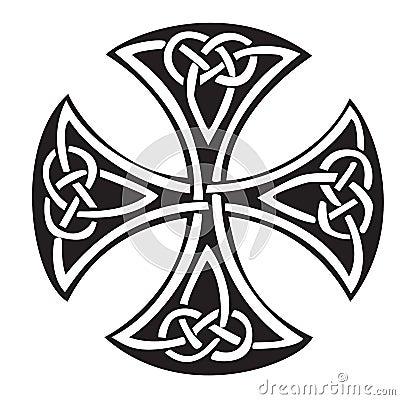 Celtic Cross Vector Illustration