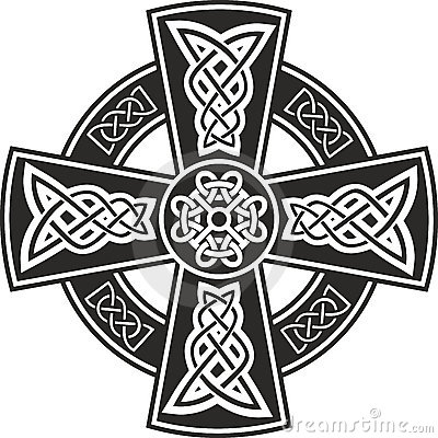 Free Celtic Cross Royalty Free Stock Image - 22066206