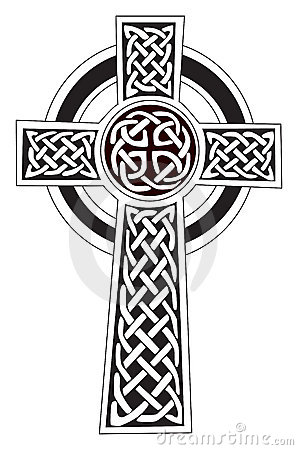 Free Celtic Cross Symbol - Tattoo Or Artwork Royalty Free Stock Photos - 8412228