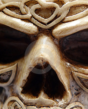 Celtic Druid Skull Face Macro
