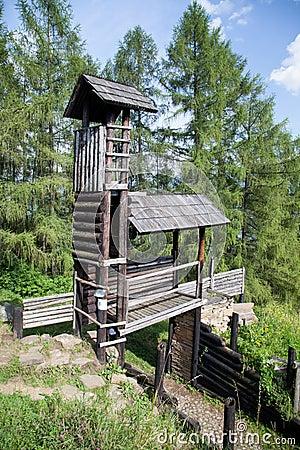 Free Celtic Gateway At Havranok - Slovakia Royalty Free Stock Images - 42736609