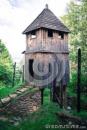 Free Celtic Gateway At Havranok - Slovakia Stock Photos - 42737313