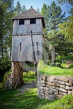 Free Celtic Gateway At Havranok - Slovakia Stock Photo - 42738100