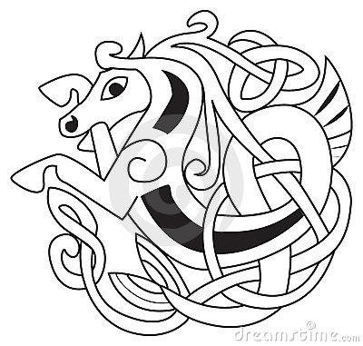 Free Celtic Horse Royalty Free Stock Photography - 8678667