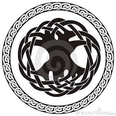 Celtic knot illustration