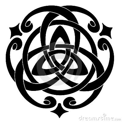 Free Celtic Knot Motif Stock Images - 9225994