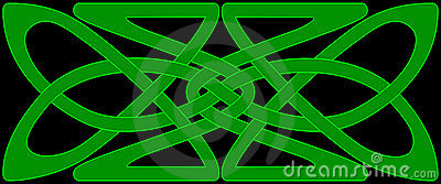 Celtic knot panel