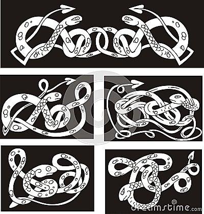 Celtic knotwork patterns - Creating flapper dress patterns