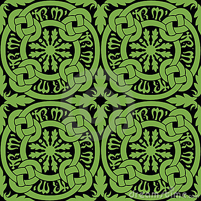 Celtic Knot Tile Pattern
