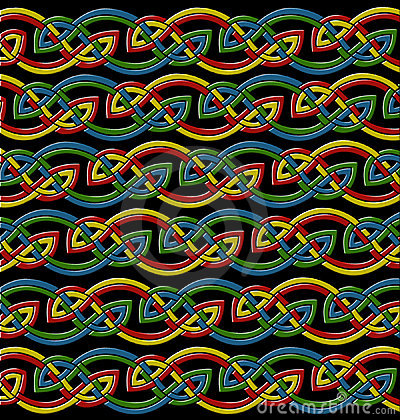 Celtic knots background