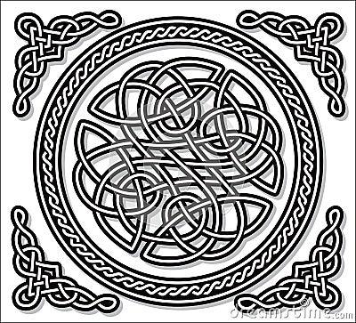 Celtic love ornament (gordian knot)