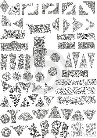Free Celtic Motifs Royalty Free Stock Image - 11450826
