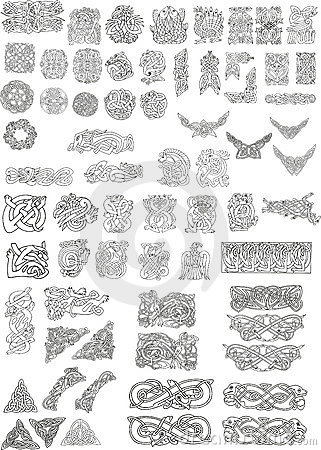 Free Celtic Motifs Royalty Free Stock Images - 11450839