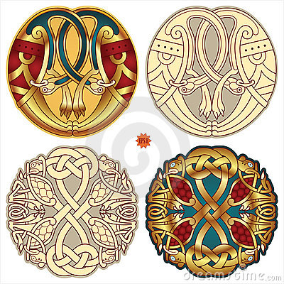 Celtic motifs Vector Illustration