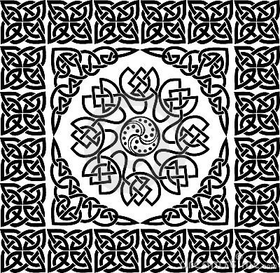 Free Celtic Ornament, Vector Royalty Free Stock Photo - 988525