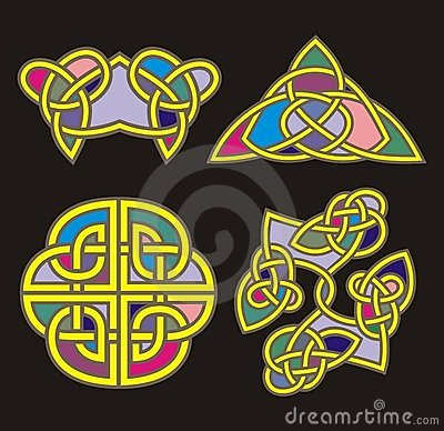 Celtic ornamental designs
