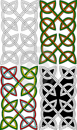 Celtic pair knots