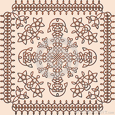 Celtic Style Ornament