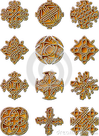 Celtic Style Ornaments