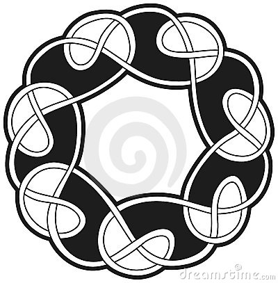Celtic traditional vector element