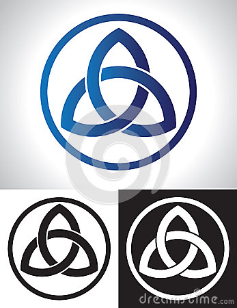 Free Celtic Trinity Knot Vector Stock Photo - 27518990