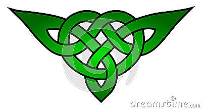 Celtic triquetra knot