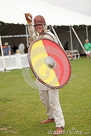 Celtic Warrior Editorial Photo
