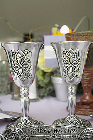 Free Celtic Wedding Cup Stock Photo - 5752990