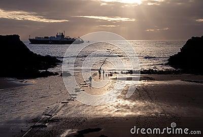 CeltixConnect coming ashore