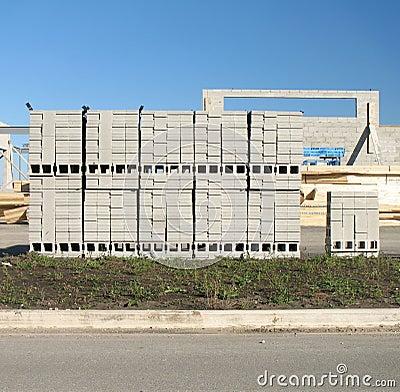 Cememt blocks