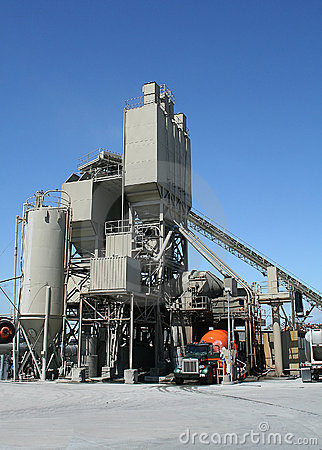 Free Cement Factory Royalty Free Stock Image - 888416