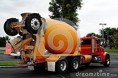 Cement mix truck