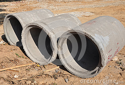 Cement pipe
