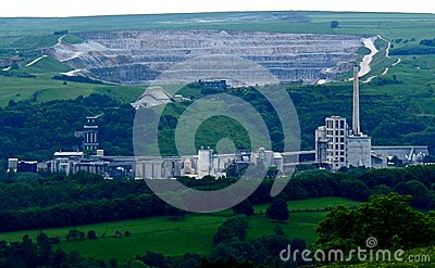 Cement Works.