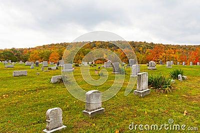 Cementerio en Pennsylvania
