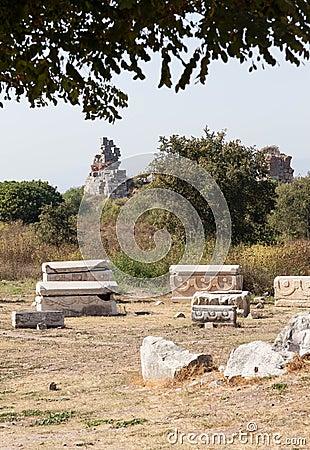 Cementery в Ephesus