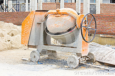 Cements mixer machine