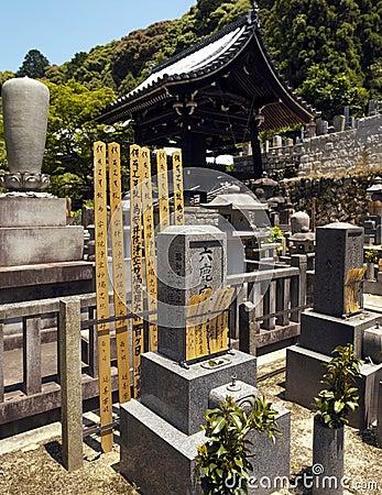 Cemetary at Eikando Temple - Kyoto - Japan Editorial Image