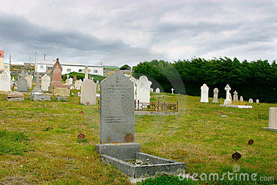 Cemetary Snake Hill, Port Stanley, Falklands Editorial Image
