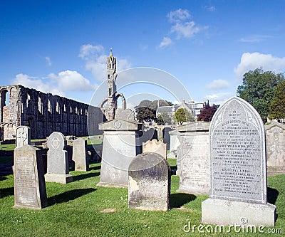 Cemetery Editorial Image