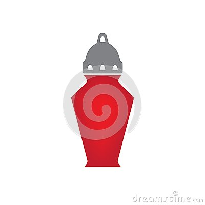Free Cemetery Candle, All Saints` Day Lantern Stock Photography - 101567282