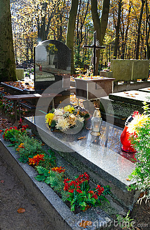 Cemetery decorations