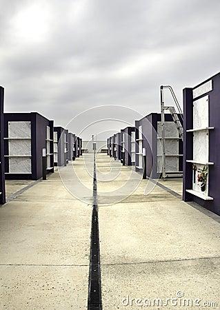 Cemetery perspective