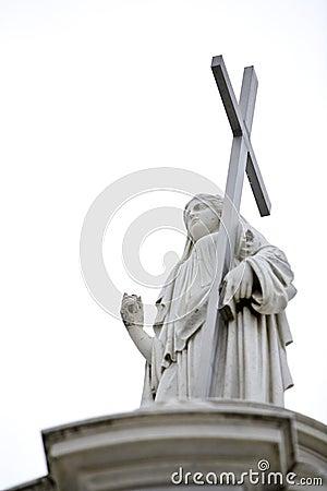 Cemetery Statue 3