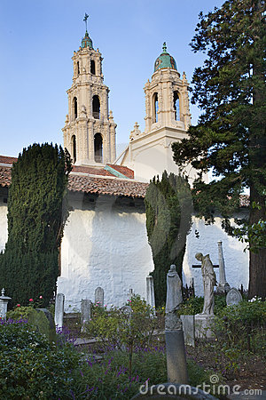 Cemetery Statues Mission Dolores San Francisco