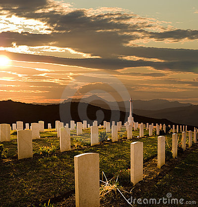 Free Cemetery World War II Royalty Free Stock Photo - 7521555