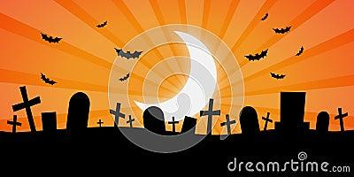 Cemitério assustador